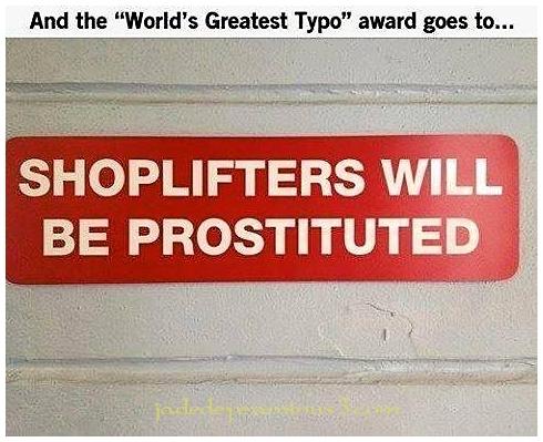 World's Greatest Typo!