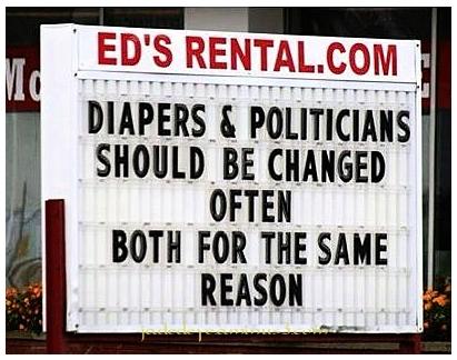 Diapers & Politicians