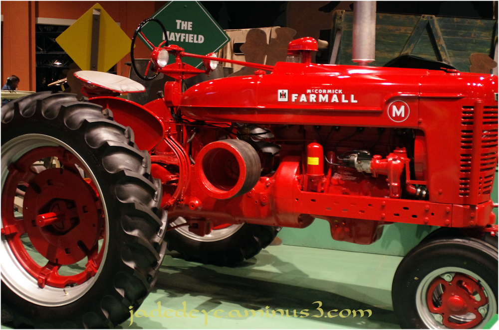 International Harvester Farmall Model M Tractor