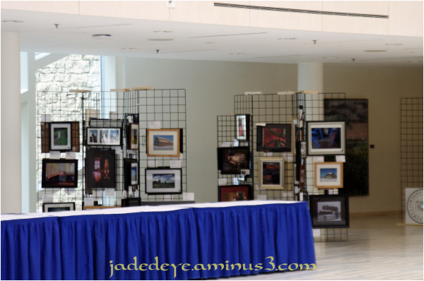 Display Area in Main Foyer