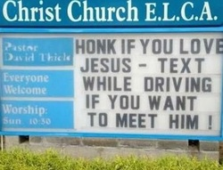 Honk If You Love Jesus!