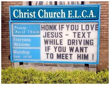Honk If You Love Jesus!