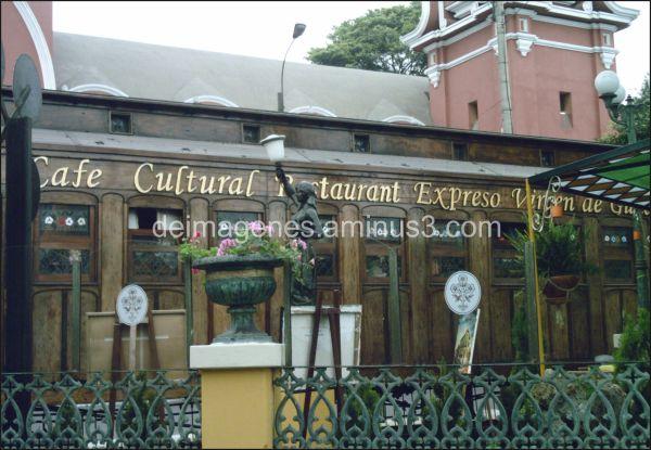 Café cultural en Barranco - Lima, Perú.