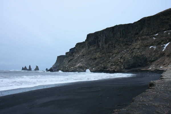 Reynisdrangar in Vik Myrdal Iceland