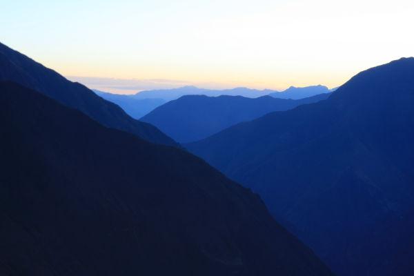 Choquequirao mountains