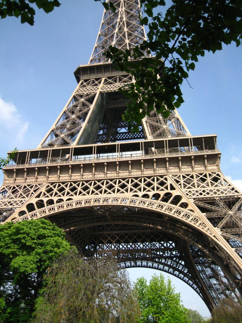 Le tour d'Eiffel...