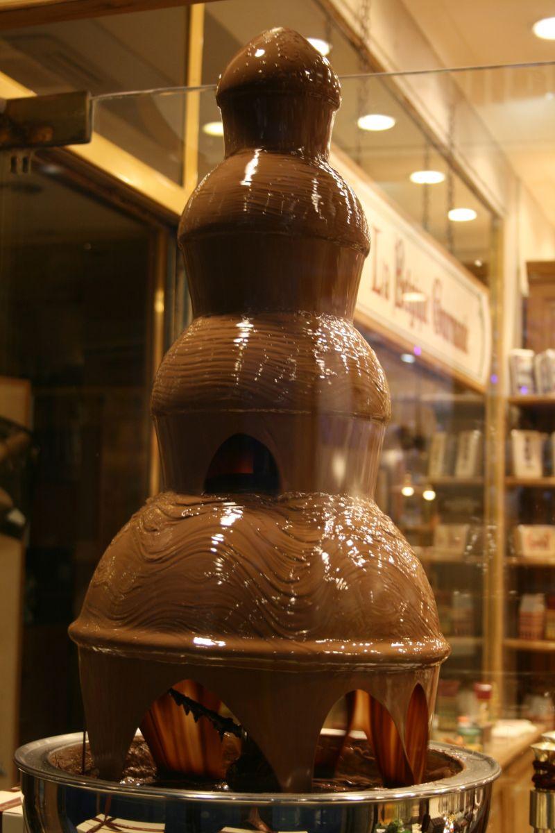 Belgique, la meilleure chocolat du monde...