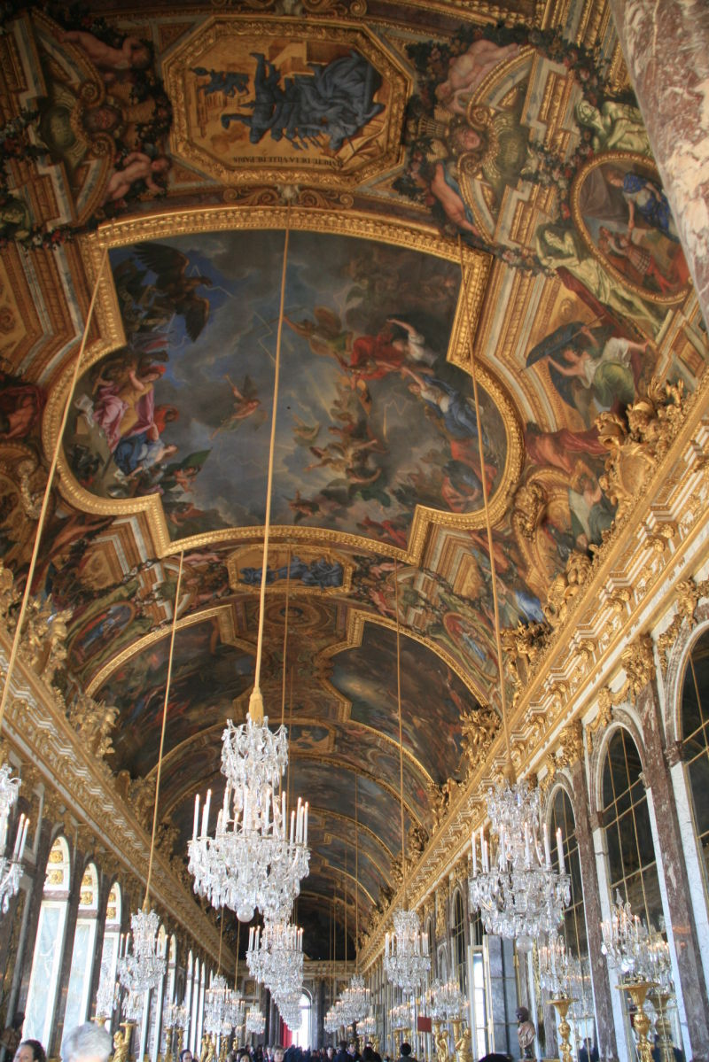 Ceiling of The Hall of Mirrors