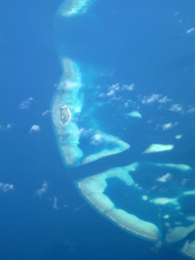 Maldives, a small one