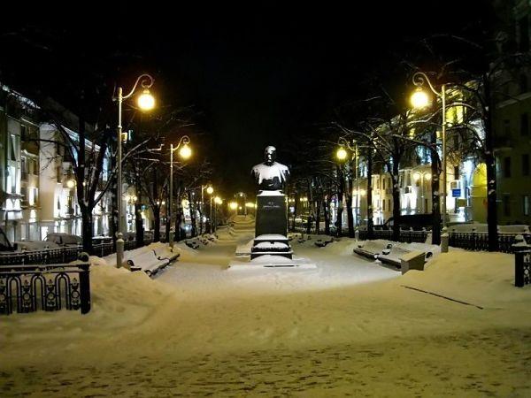 On a quiet winter night...