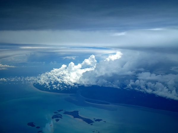 Somewhere above Thailand