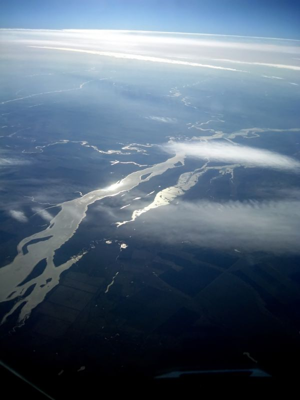 River - from above