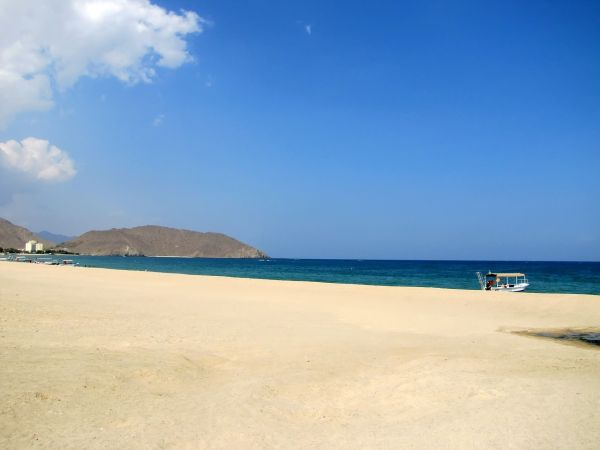 Beach in Fujairah