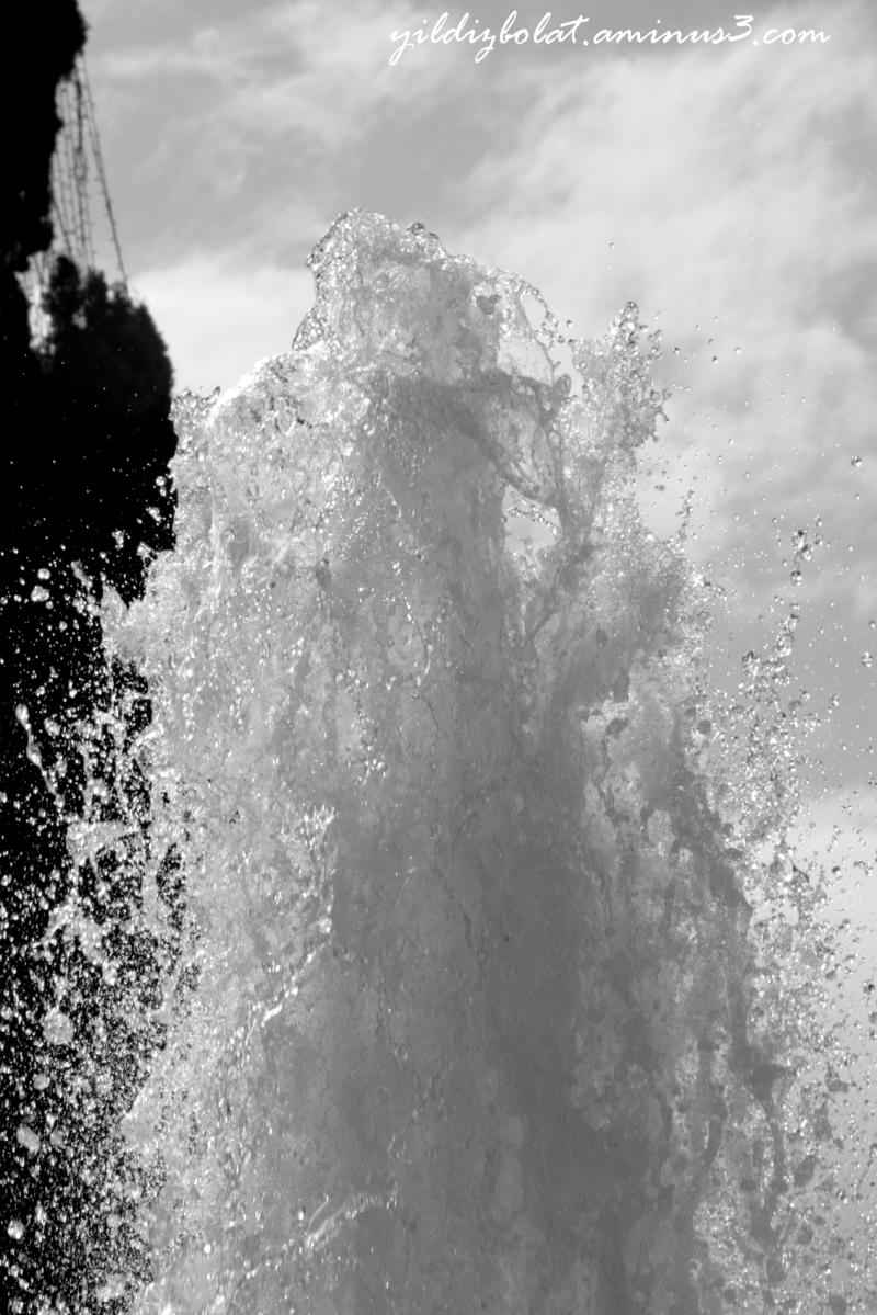 Water fountain...