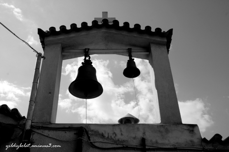 Church bells...
