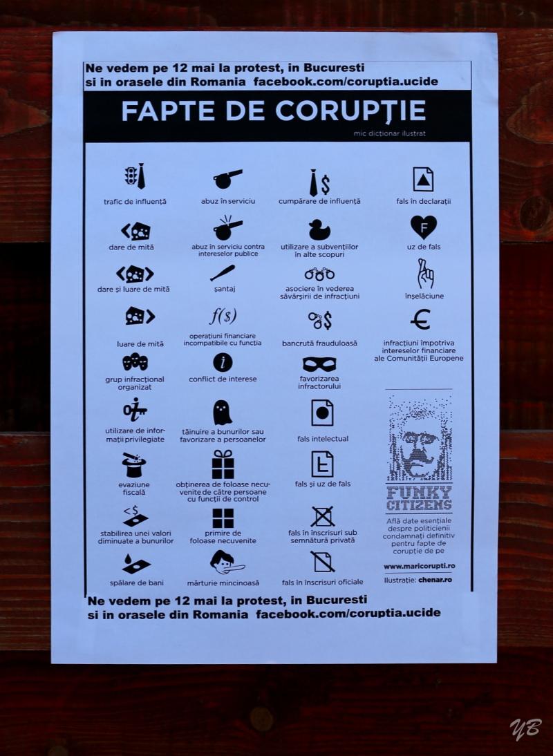 Corruption kills #rezist