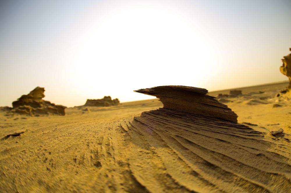 fossil dunes of Abu Dhabi