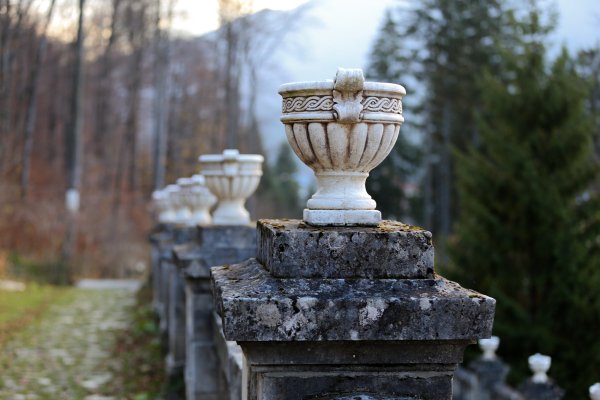 Cantacuzino palace - gardens