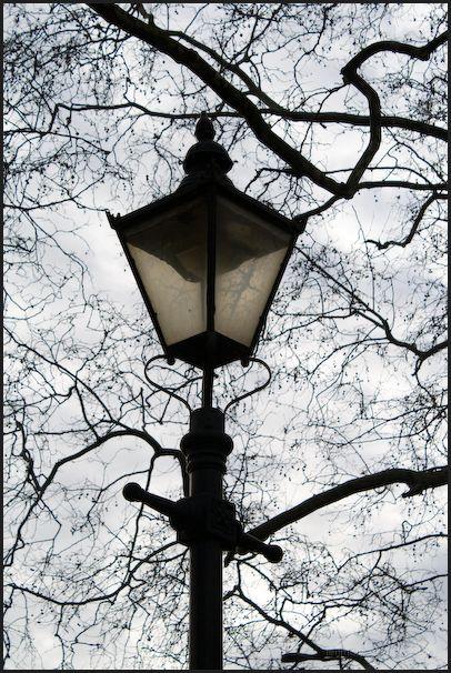Streetlight at Battersea Park