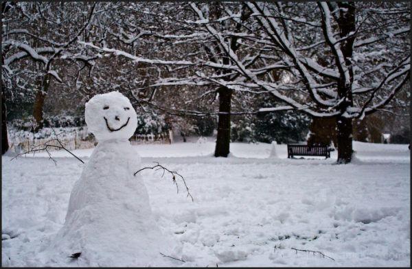 Smiley Snowman, St James Park