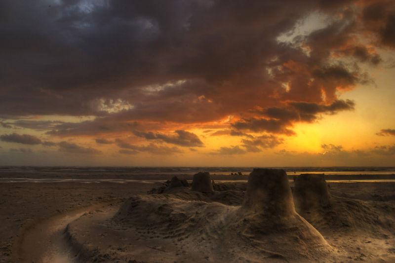 chateau de sable ste cécile