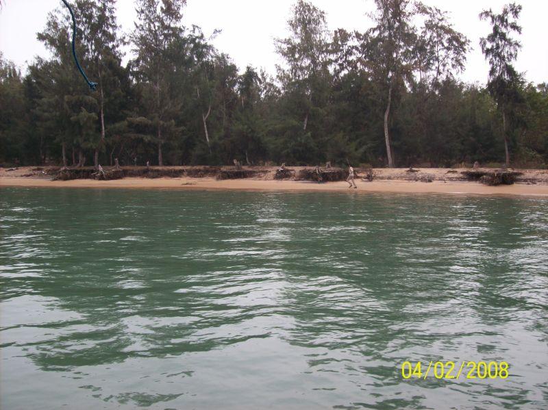 Island at Chilka Lake, India