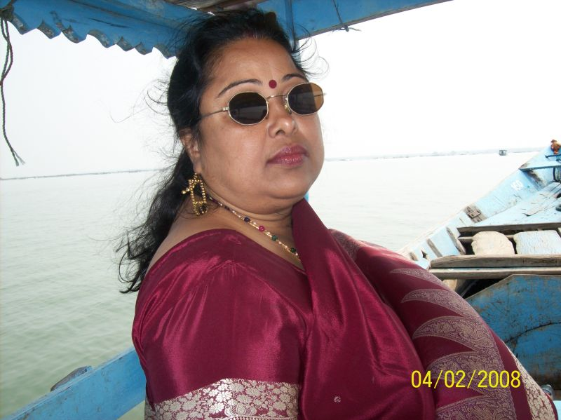 Indian Woman Spending Holidays