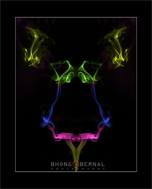smoke art colors