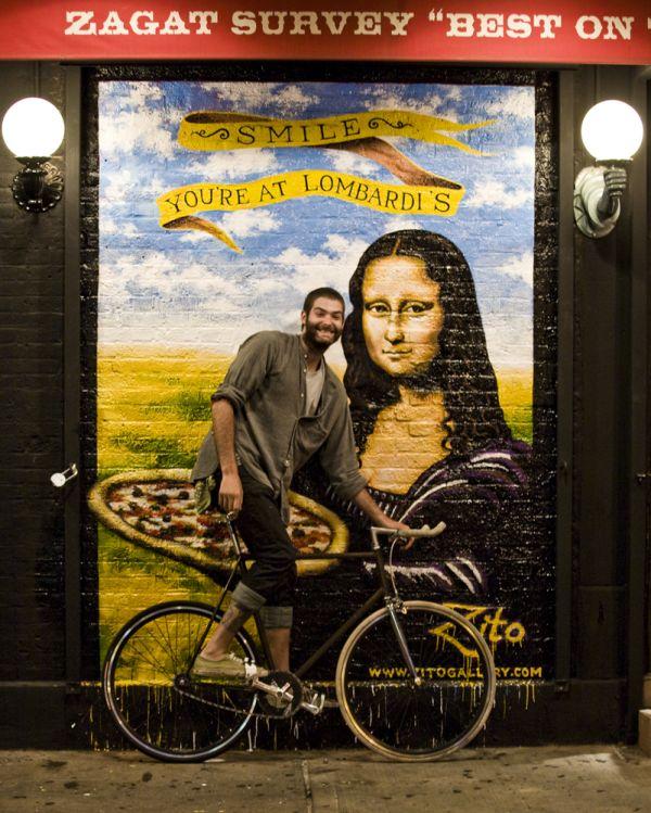 Josh and Mona Lisa