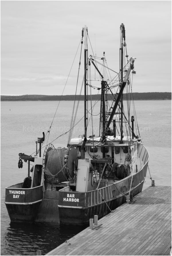 Fishing boat in Bar harbor