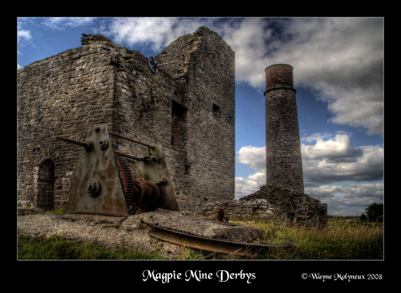 An old disused Lead mine
