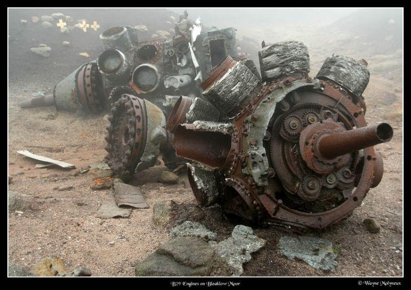 Air craft wreck of B29