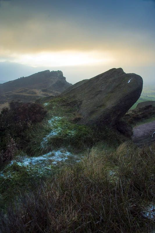 Frost & Rocks on The Roaches by Wayne Molyneux