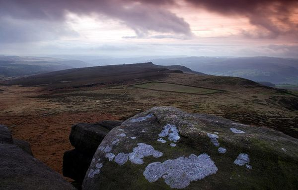 Looking out over Carl Walk from Higgar Tor