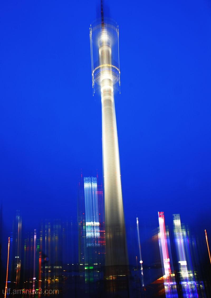 Television Tower at Berlin Alexanderplatz