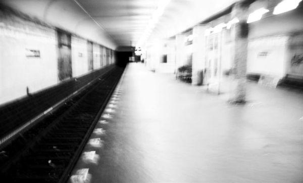 Berlin Underground Subway Station Photography