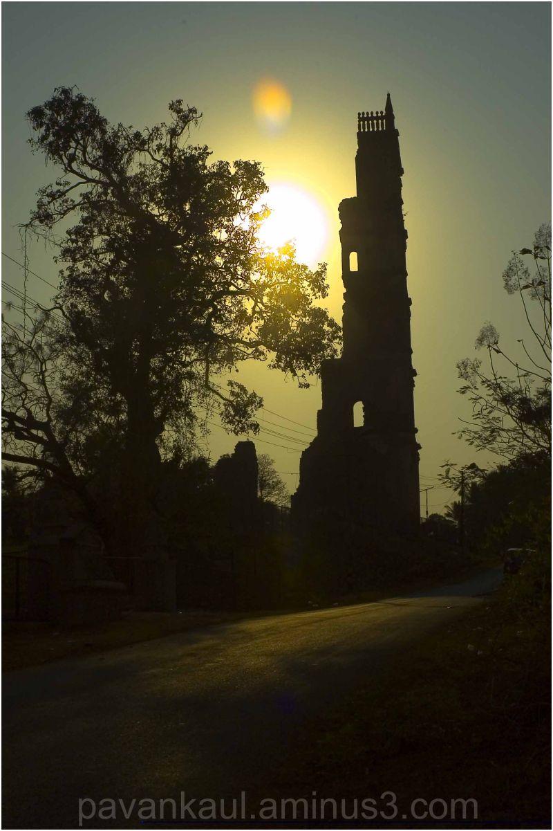 Sun rise in Goa