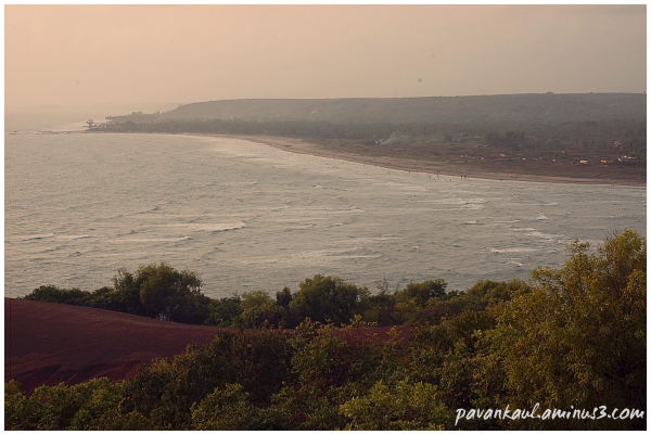 Morgim beach in Goa