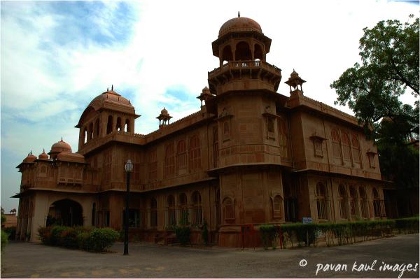 Palace at Bikaner Rajasthan