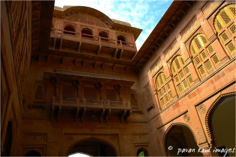 Palace at Bikaner Rajasthan