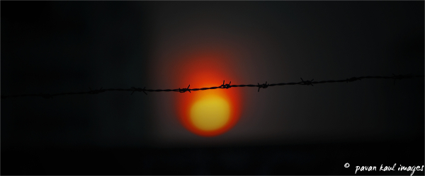 sunset beyond borders
