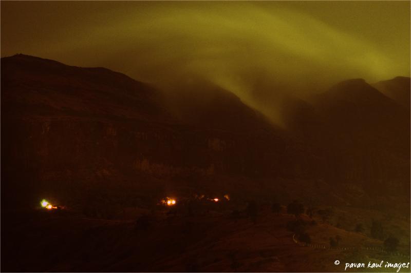 firelight at Dusk