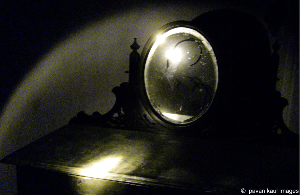dust of time on mirror