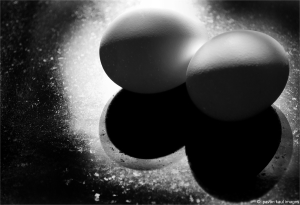 eggs and shadow