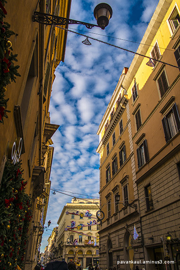 streets in Rome