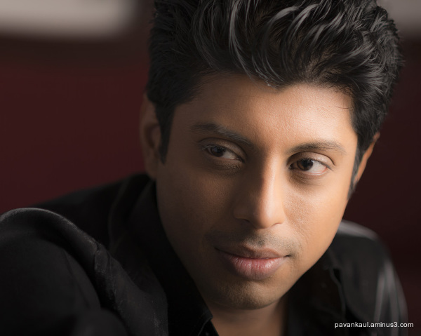 Portrait of Pratik in color