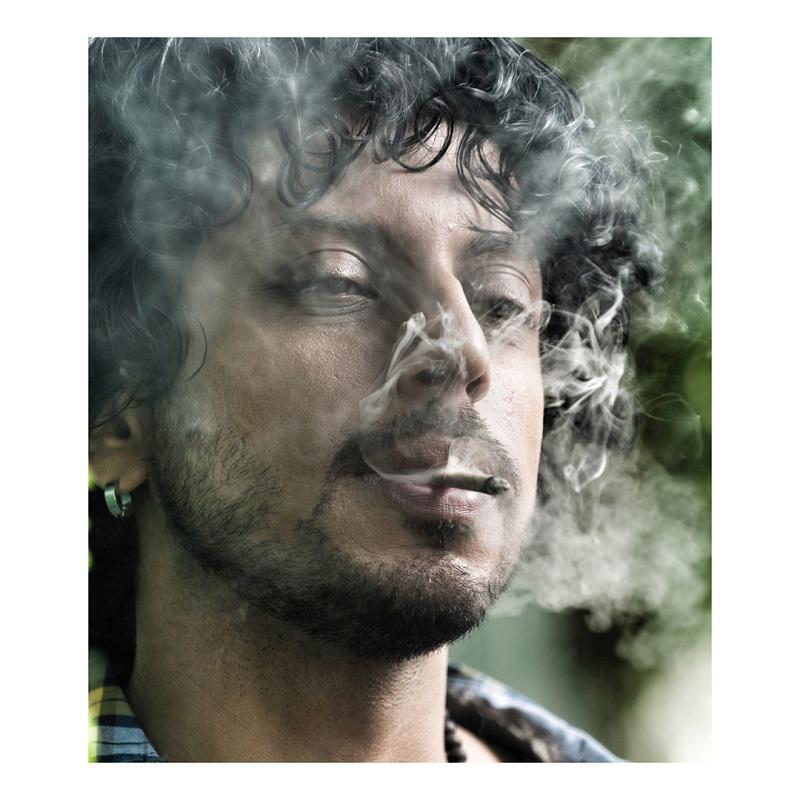 Dramatic Portrait of Pratik in color