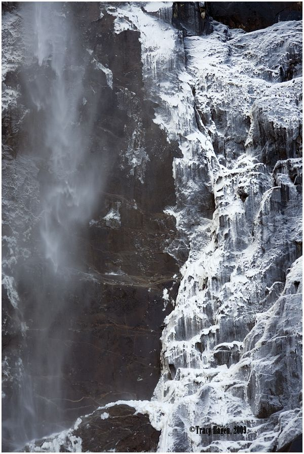 Ico on Bridal Veil Falls, Yosemite, CA