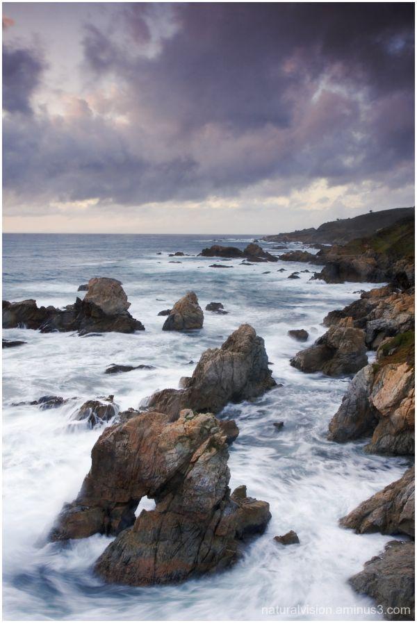 Rocks at Garrapata Beach