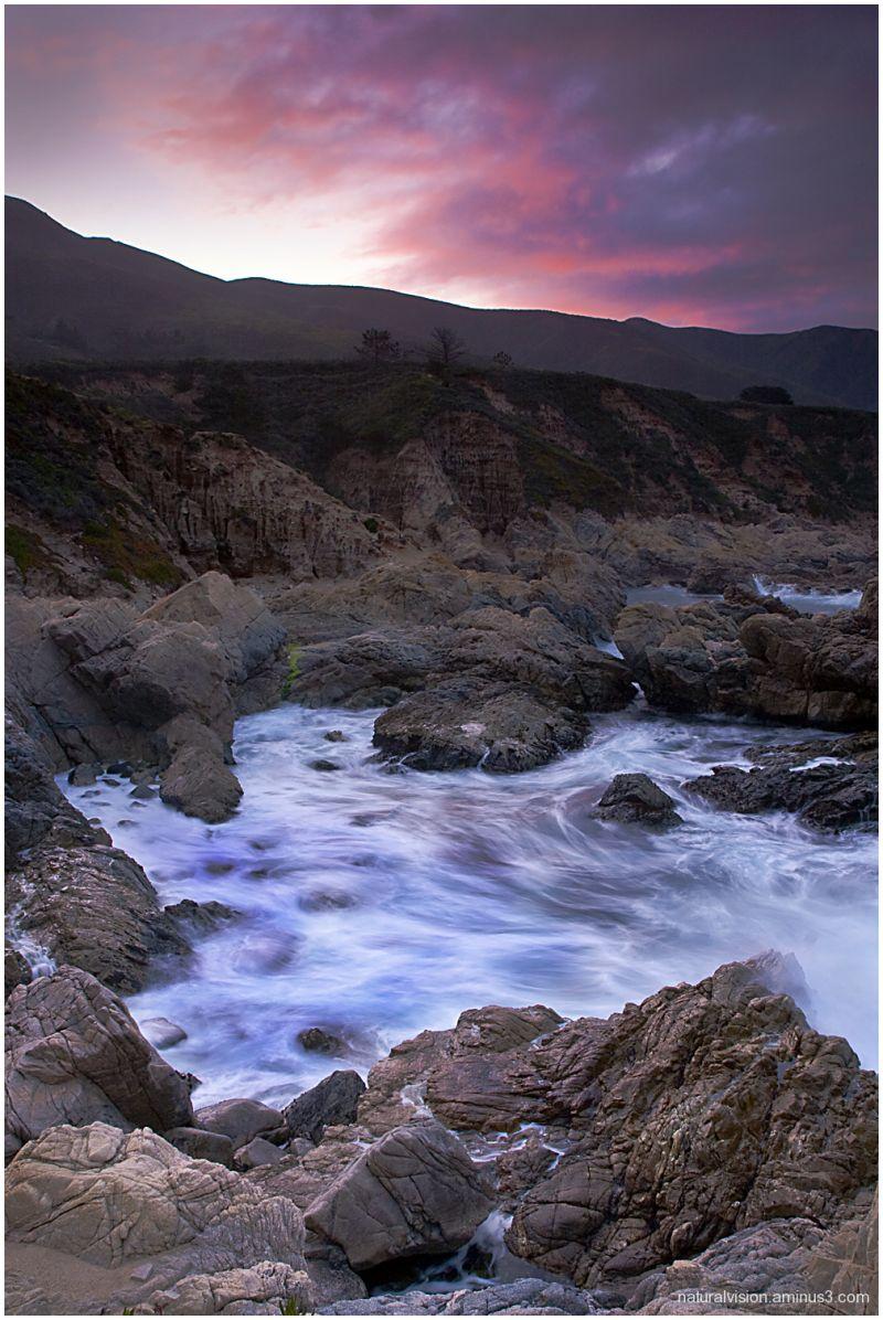 Sunrise at Big Sur